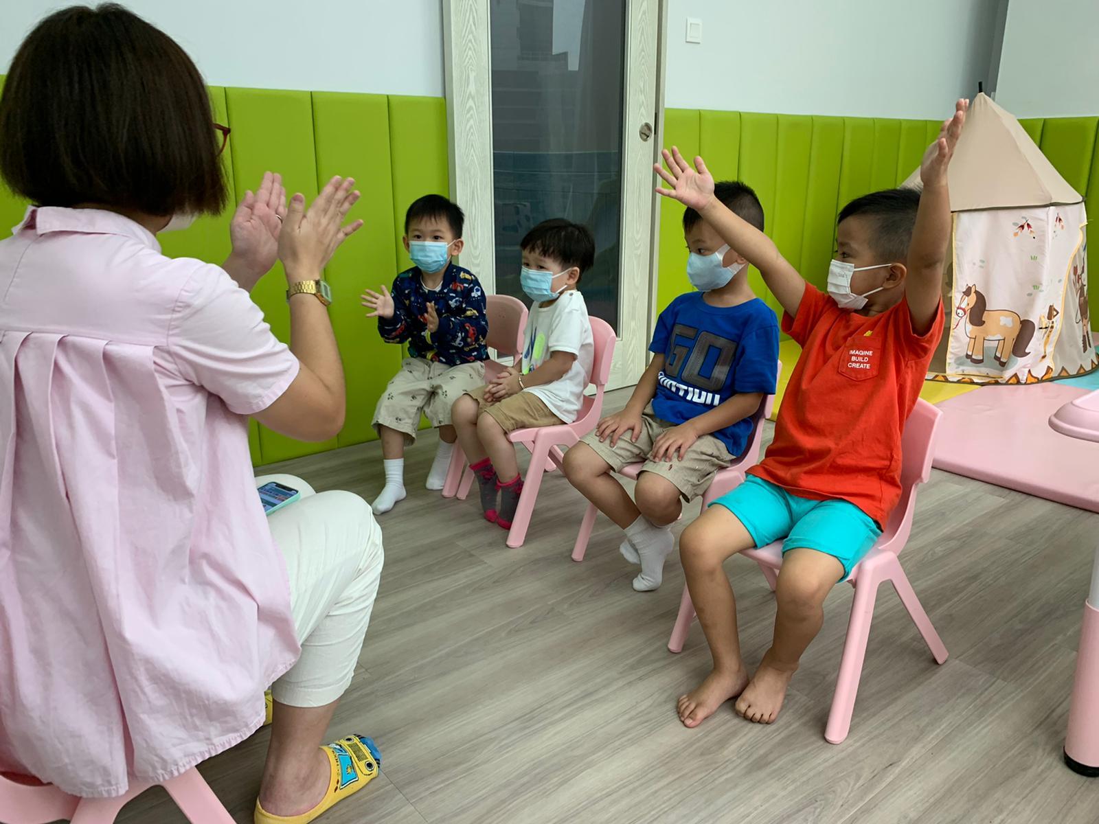 GAPSK幼稚園(中級)普通話水平考試